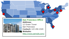 Create mobile friendly interactive maps using HTML5 for mobile web developemnt